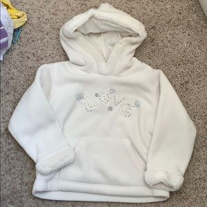 Baby girl Koala kids hooded sweater LOVE 36 months